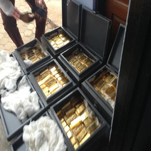 Gold We Deliver to buyers own destination